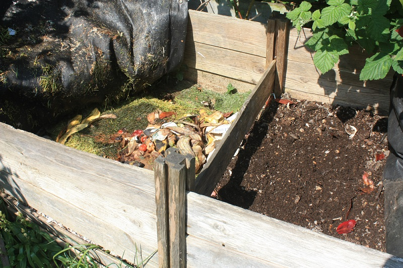 how to use compost in vegetable garden